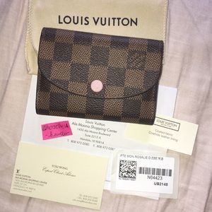 Louis Vuitton Rosalie Wallet